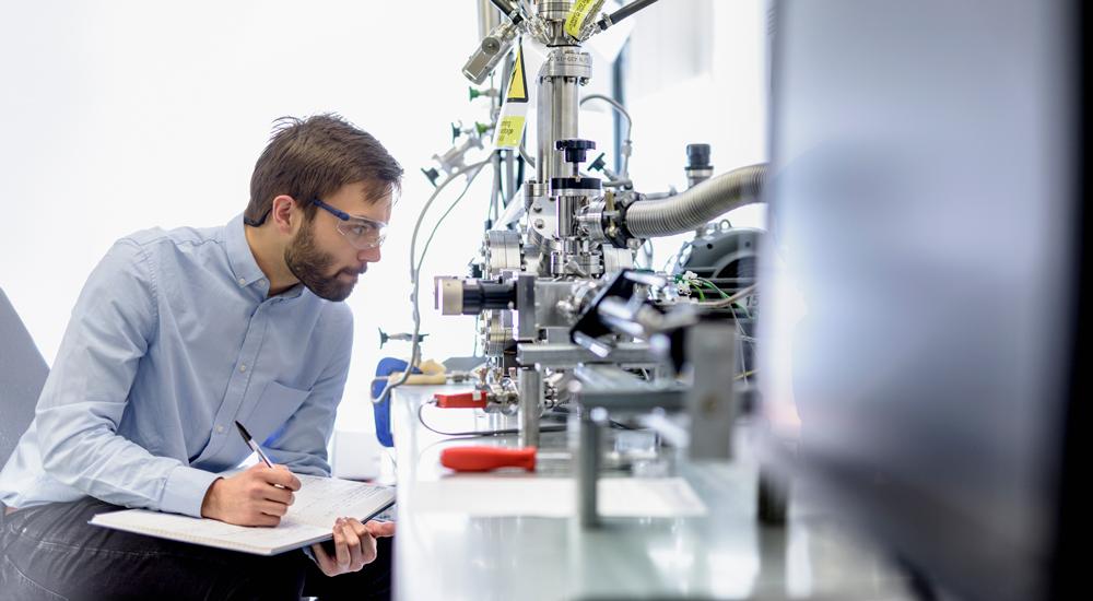 MRF equipment for tritium retention measurements
