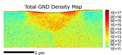 Total GND Density Map